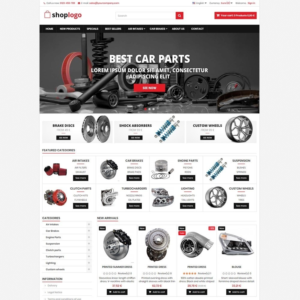 P16AT11 Car spare parts and tools