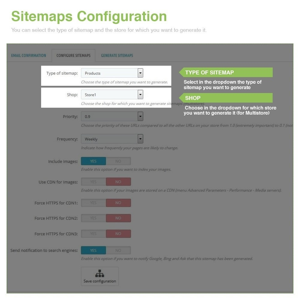 module - SEO - Multilingual and Multistore Sitemap Pro – SEO - 2