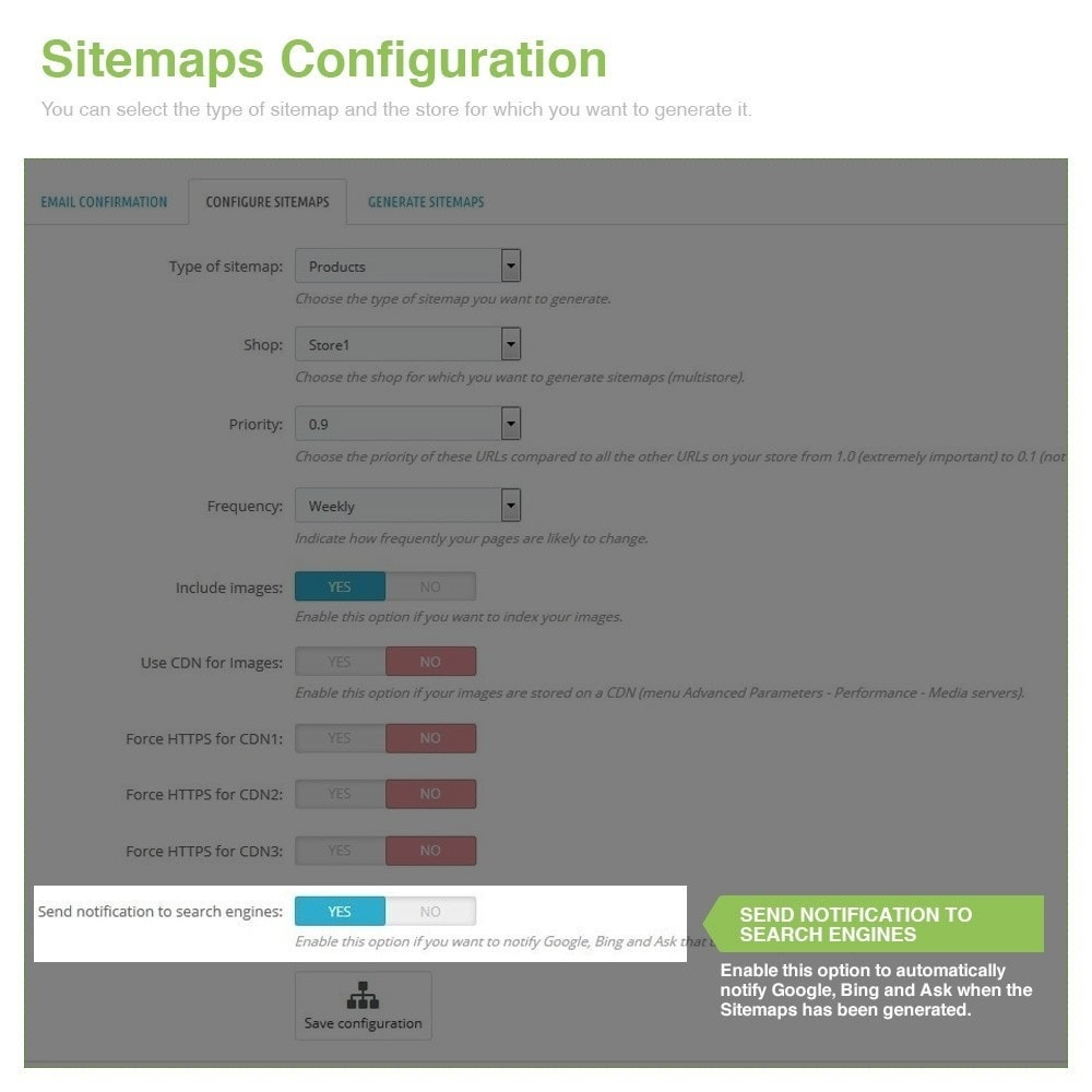 module - SEO - Multilingual and Multistore Sitemap Pro – SEO - 5