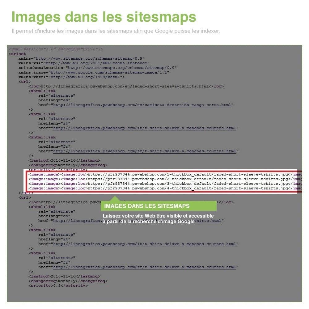 module - SEO (référencement naturel) - Sitemaps Pro Multilingues et Multi-Boutiques - SEO - 14