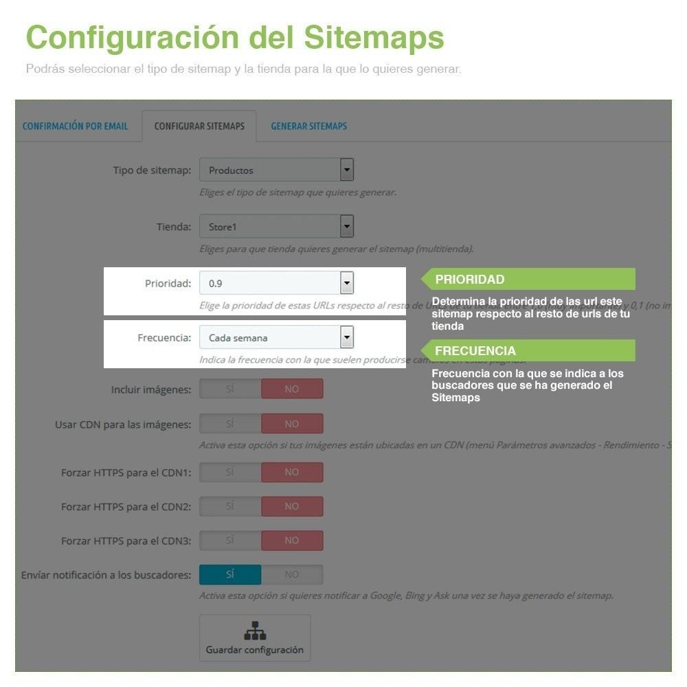 module - SEO (Posicionamiento en buscadores) - Sitemaps Pro Multi-Idiomas y Multi-Tiendas - SEO - 4