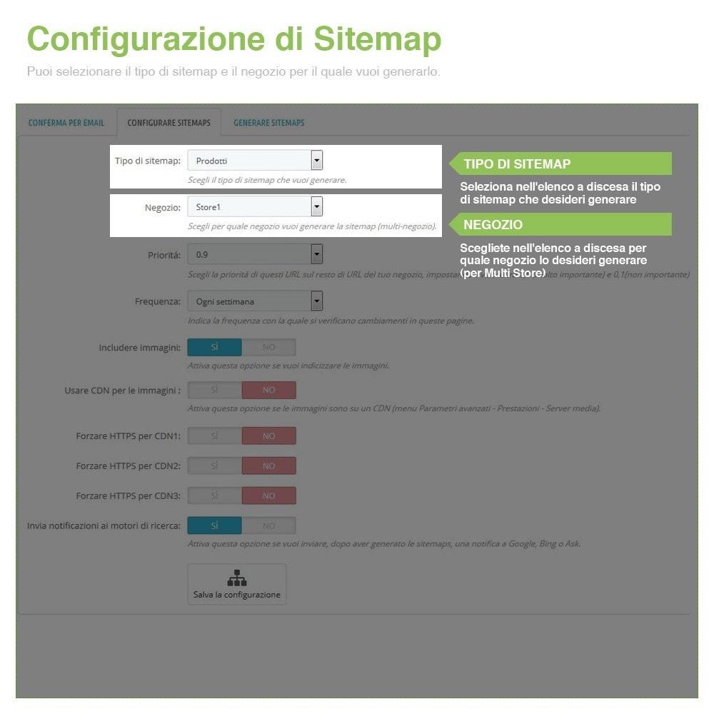 module - SEO (Indicizzazione naturale) - Sitemaps Pro Multi-Lingue e Multi-Negozio - SEO - 3