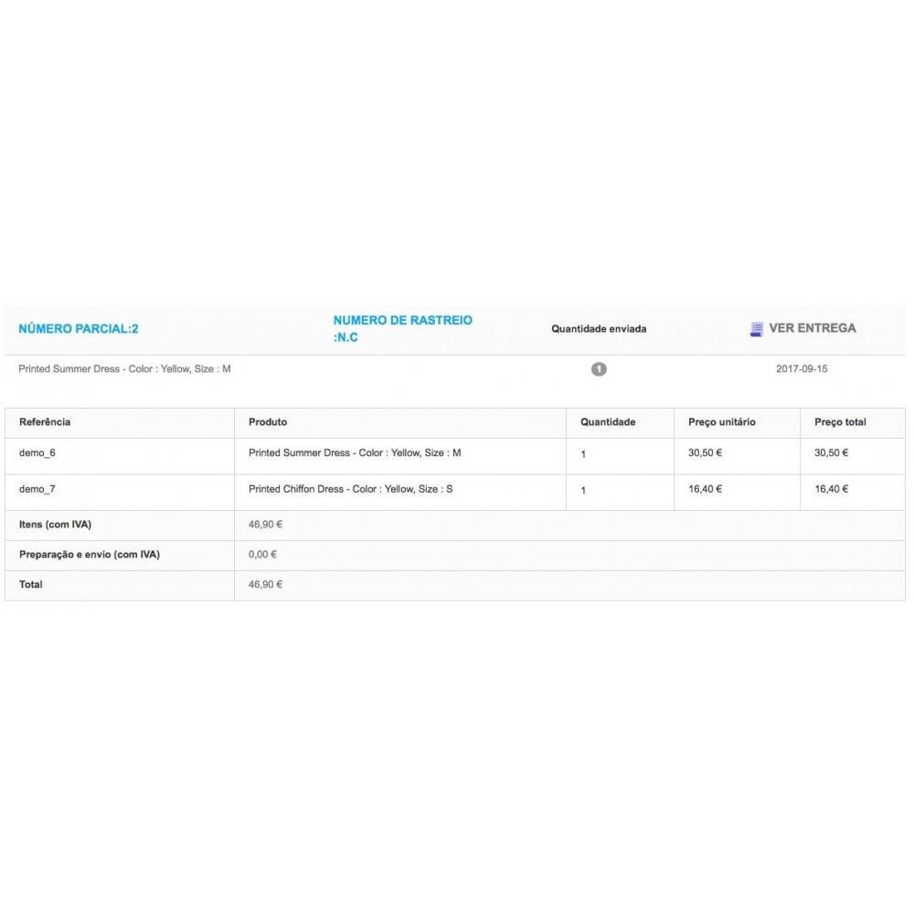module - Gerenciamento de pedidos - Entrega parcial (saldo da ordem) - 6