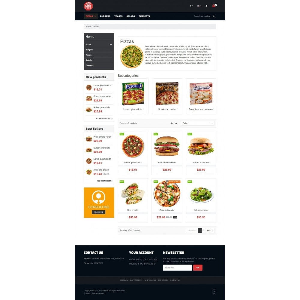 theme - Food & Restaurant - VP_Fastfood Store - 3