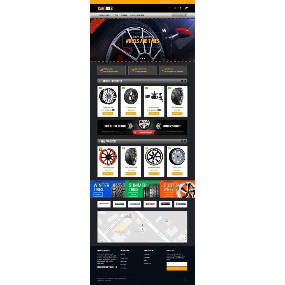 theme - Carros & Motos - VP_Cartires Store - 2