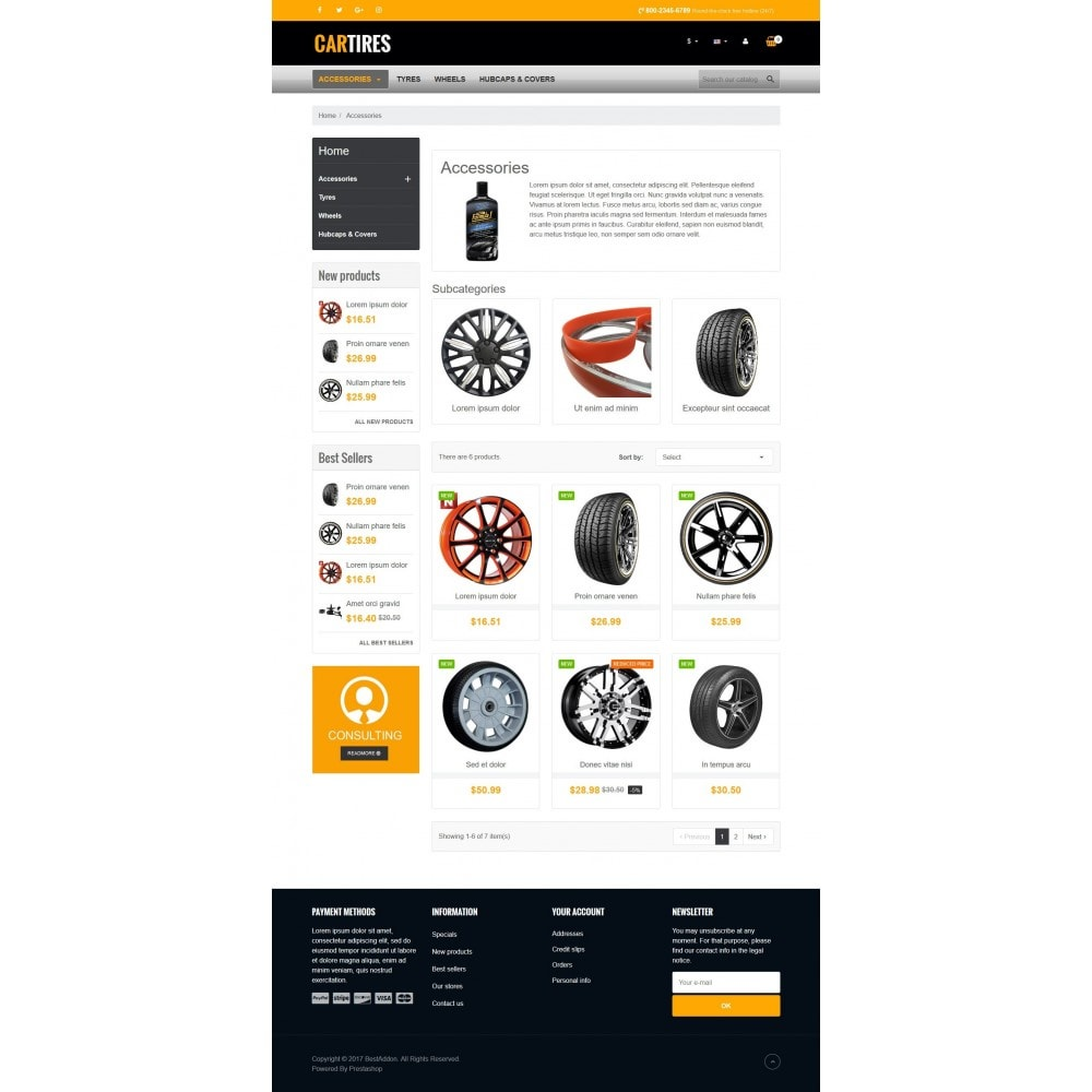 theme - Carros & Motos - VP_Cartires Store - 3