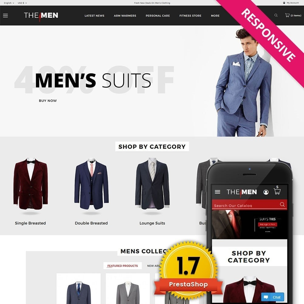 theme - Moda & Obuwie - TheMan Luxurious Fashion Store - 1