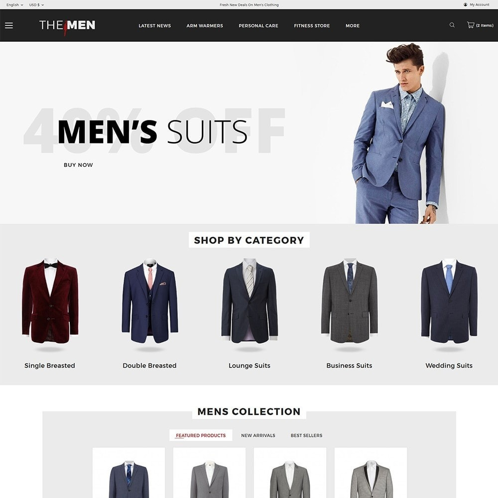 TheMan Luxurious Fashion Store