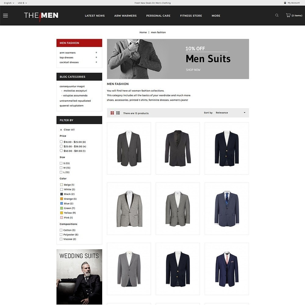 theme - Moda & Calzature - TheMan Luxurious Fashion Store - 4