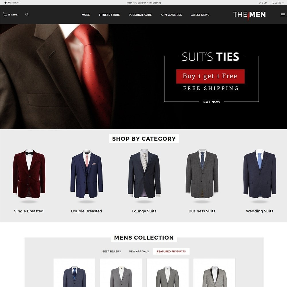 theme - Moda & Obuwie - TheMan Luxurious Fashion Store - 7
