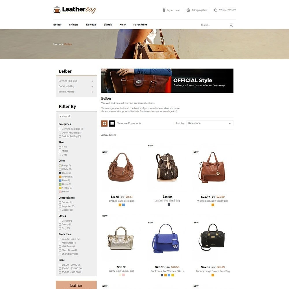 Leather Bag Store