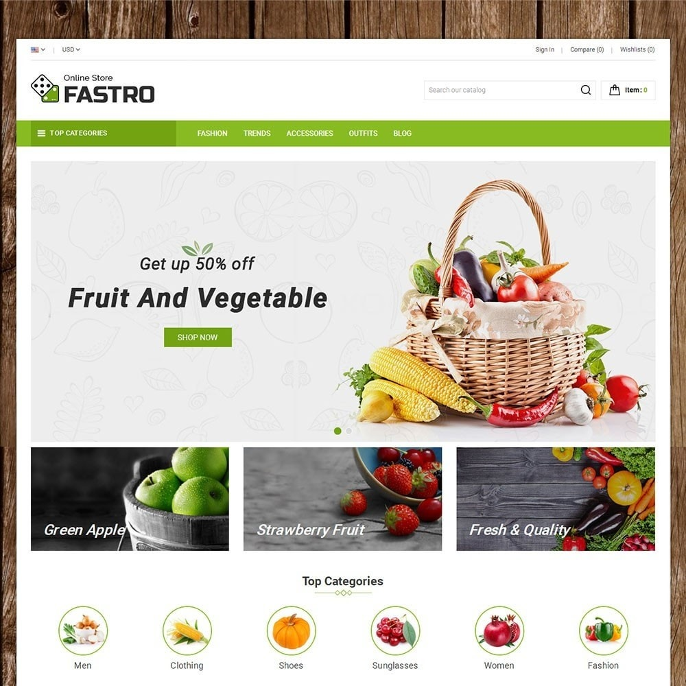 theme - Lebensmittel & Restaurants - Fastro Grocery Store - 2