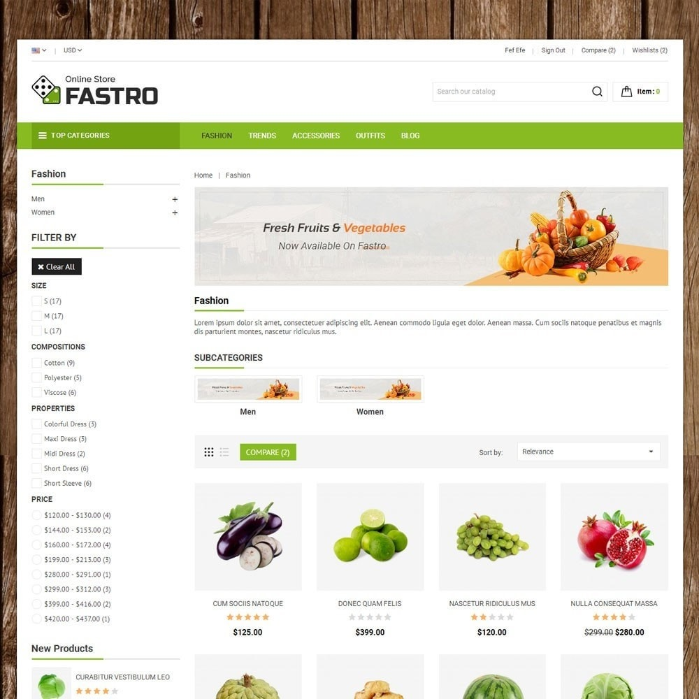 theme - Food & Restaurant - Fastro Grocery Store - 3