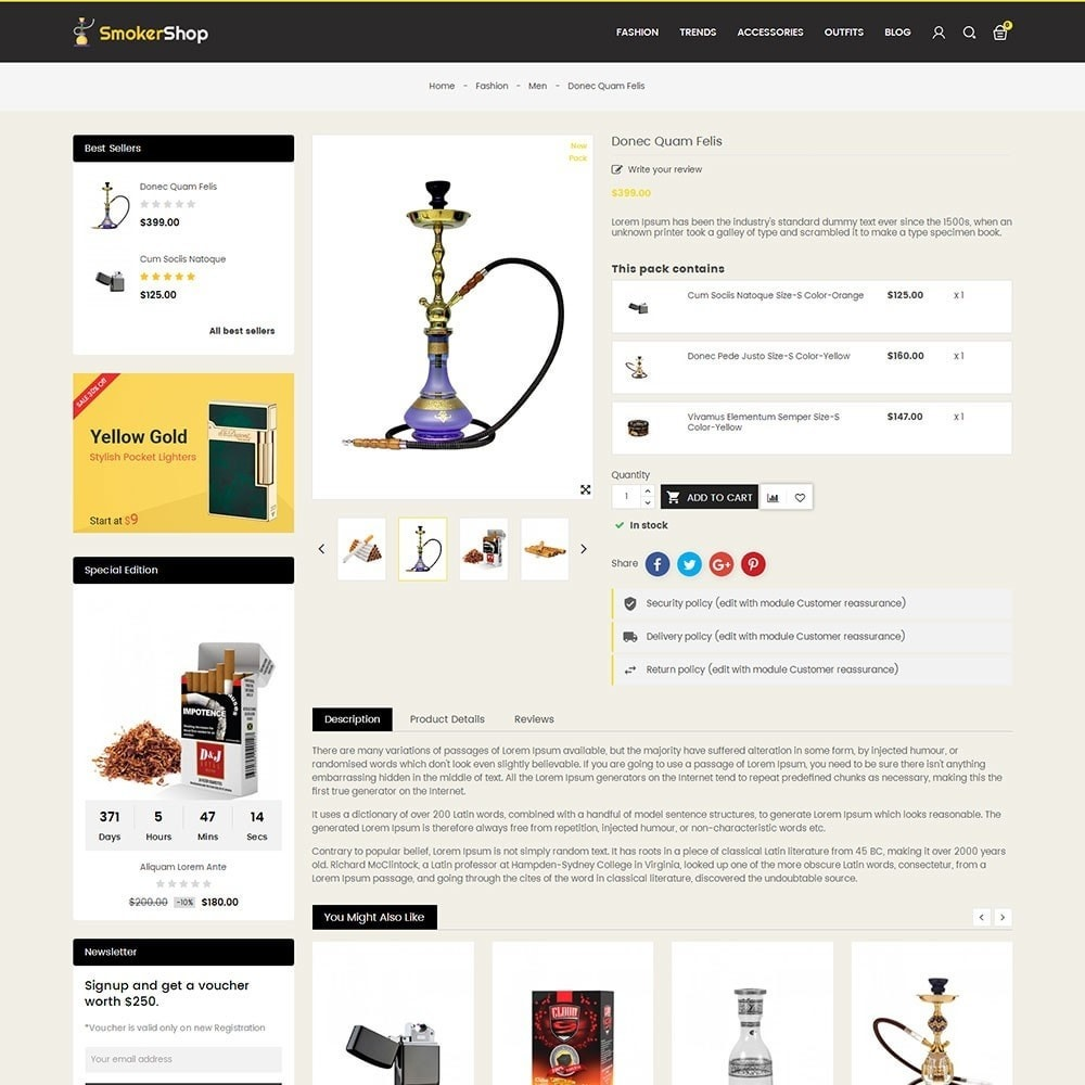 theme - Drink & Wine - Smoker Store - 5