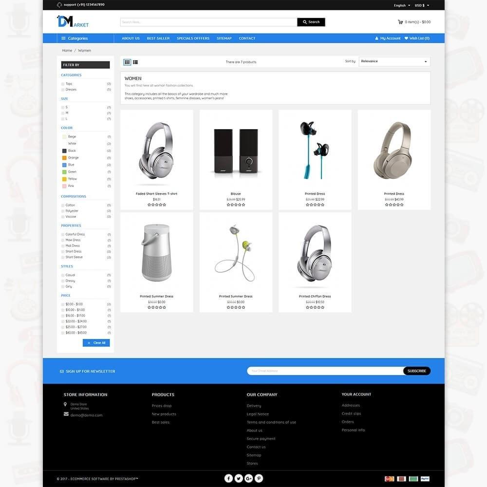 DM Market - The Mega Electronics Store
