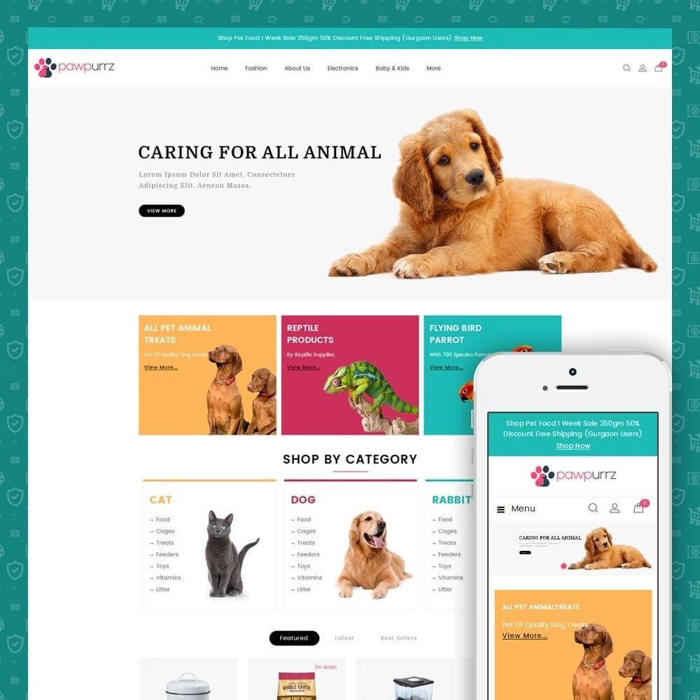 PawPurrz - Pets Store