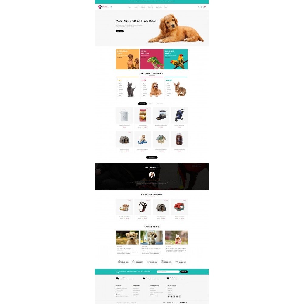 theme - Animals & Pets - PawPurrz - Pets Store - 2