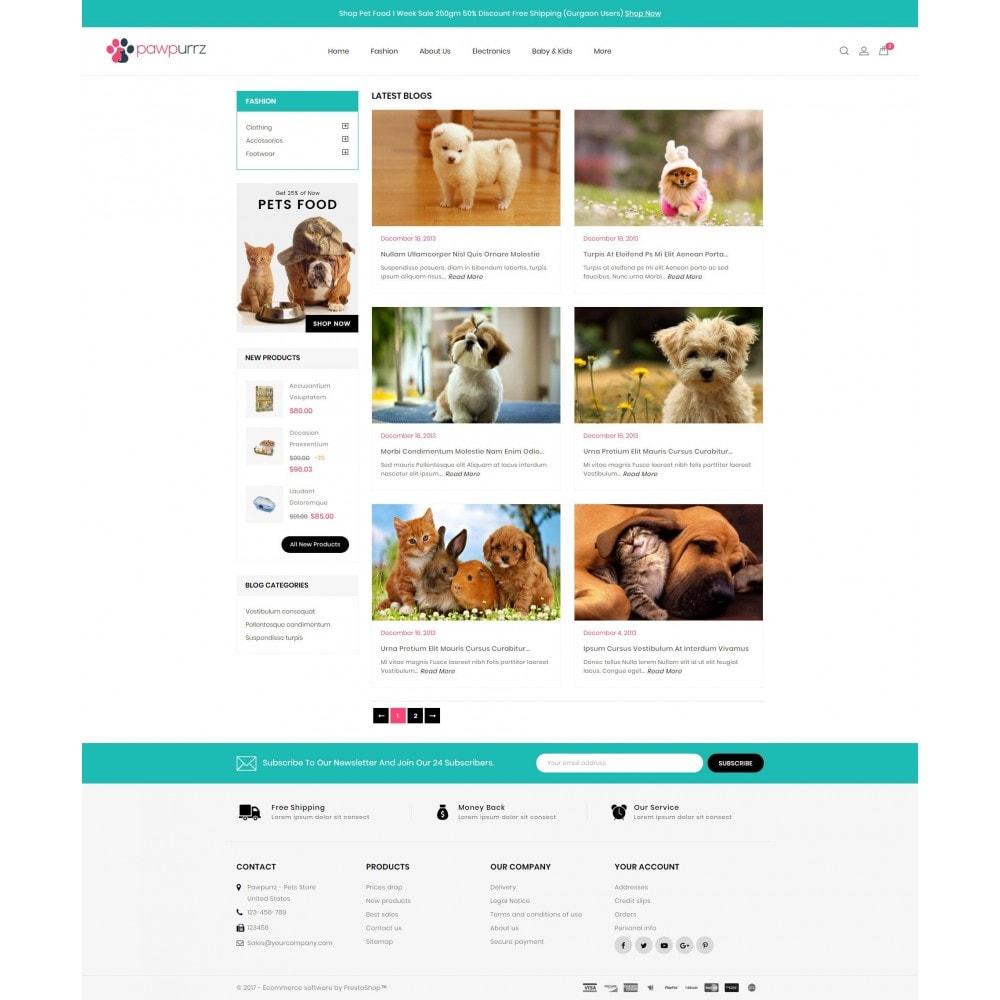 theme - Animaux - PawPurrz - Pets Store - 9