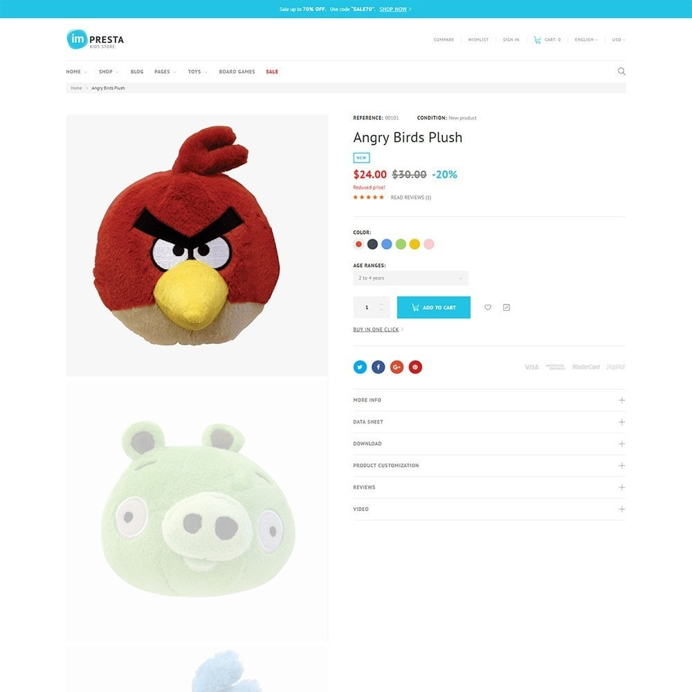 theme - Kids & Toys - Impresta - Kids Store - 5