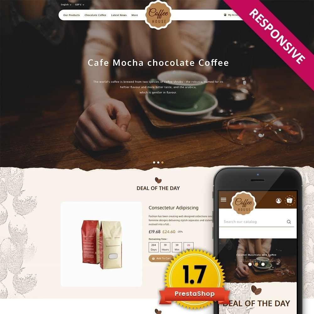 Coffeehouse Beverage Store