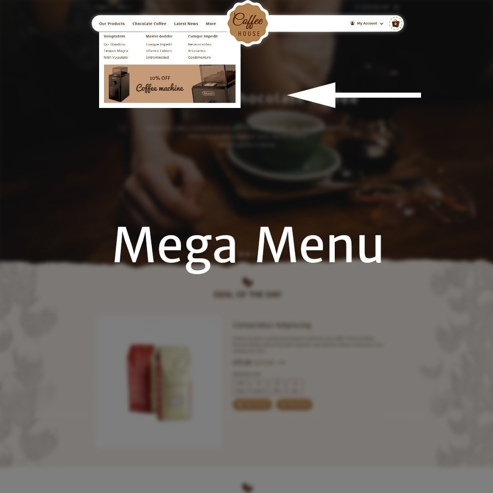 theme - Food & Restaurant - Coffeehouse Beverage Store - 8