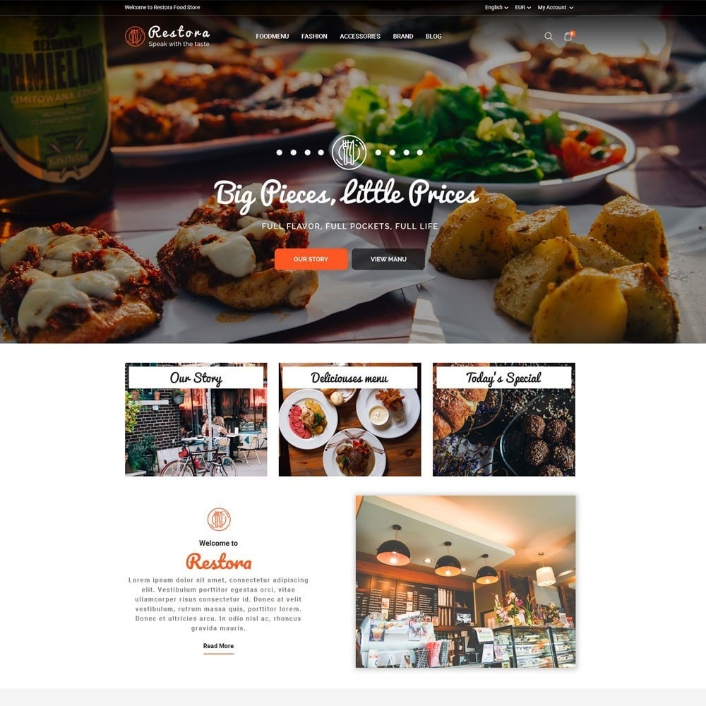 theme - Eten & Restaurant - Restora Food Store - 2