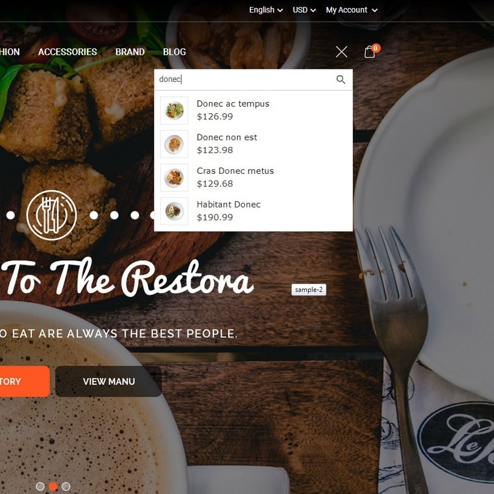 theme - Eten & Restaurant - Restora Food Store - 3
