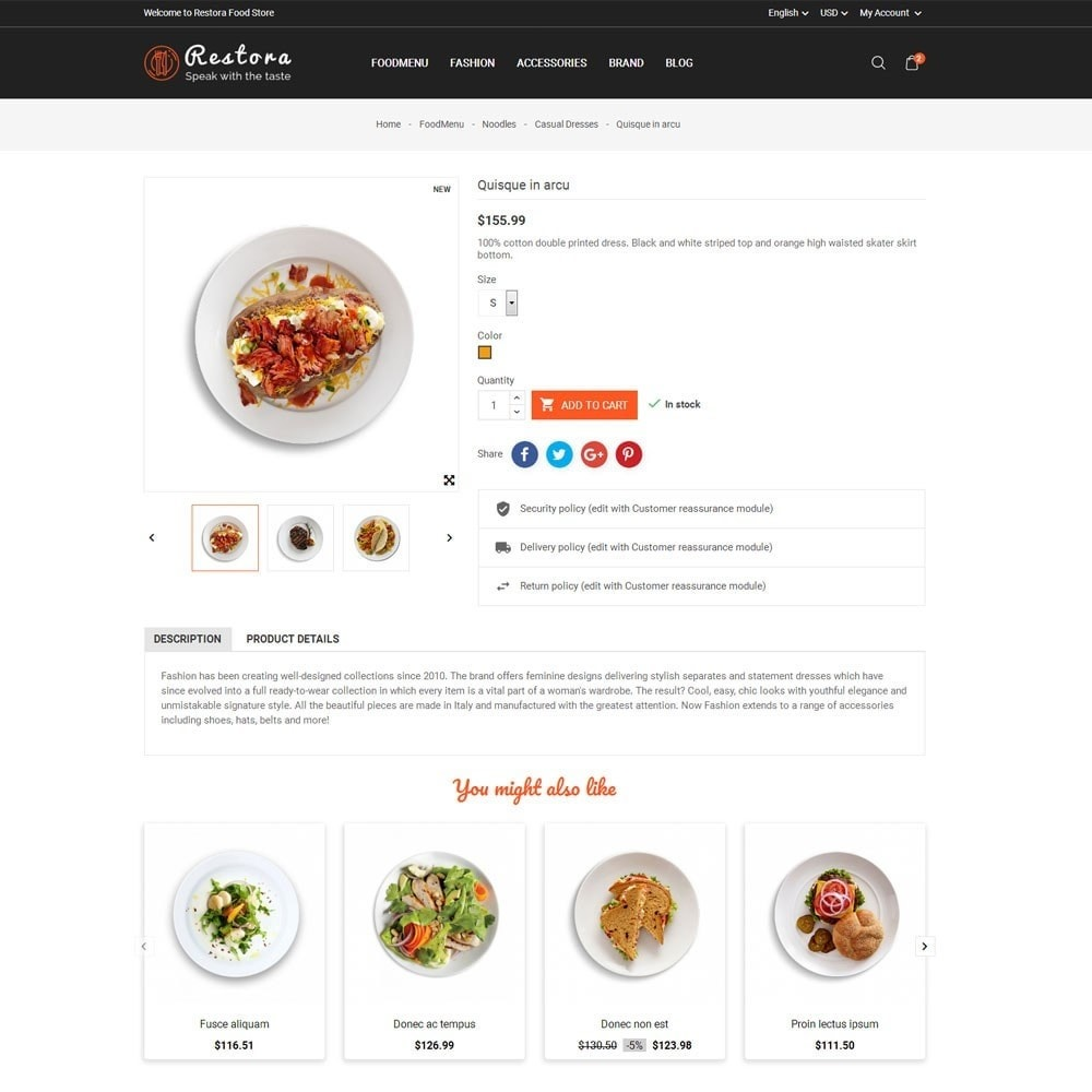 theme - Eten & Restaurant - Restora Food Store - 7
