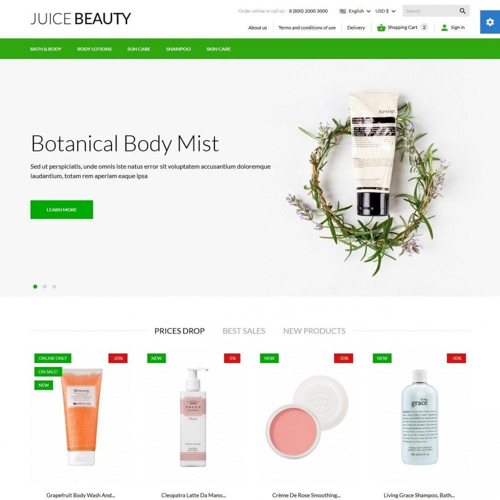 theme - Zdrowie & Uroda - Juice Beauty Cosmetics - 2