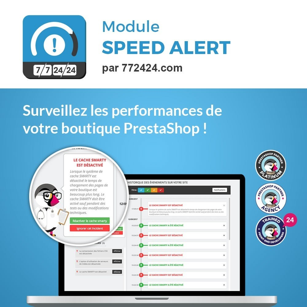 module - Performance du Site - 772424.com