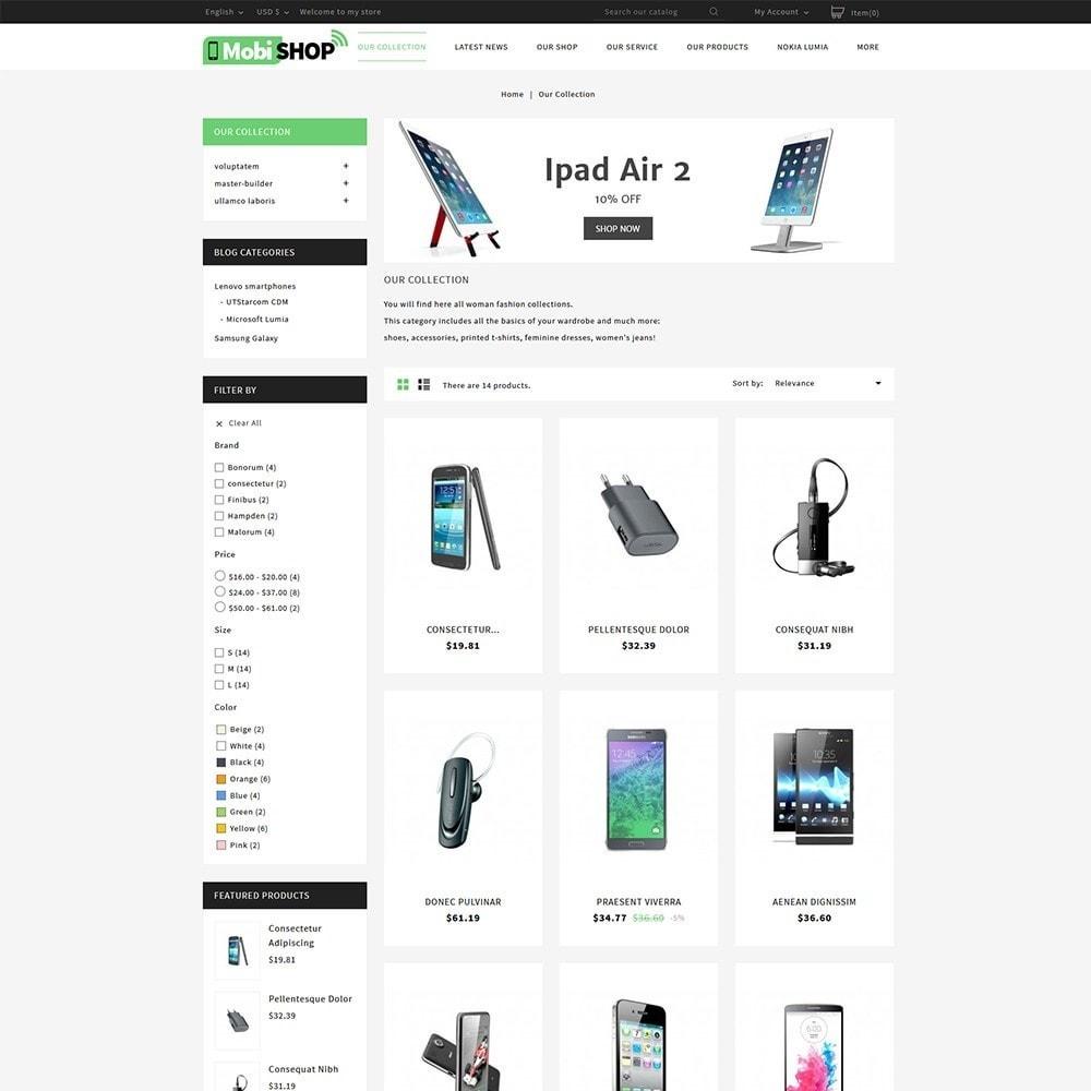 theme - PrestaShop thema's - Mobishop Onestop Mobile Store - 3