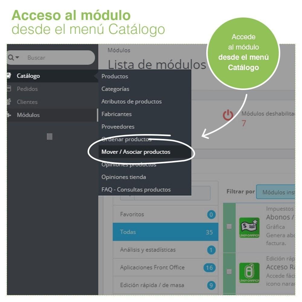 module - Edición Rápida y Masiva - Mover y Asociar Productos entre Categorías en Masa - 2