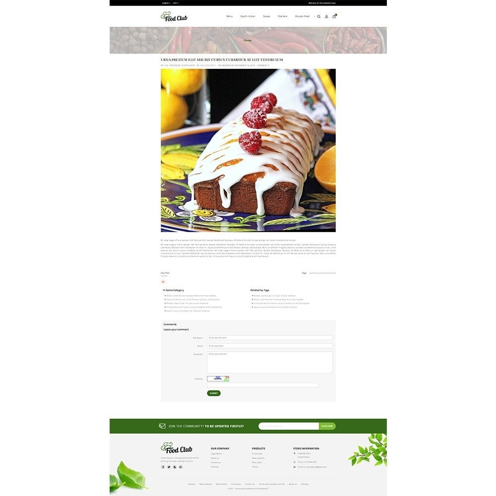theme - Alimentation & Restauration - Foodclub Store - 8