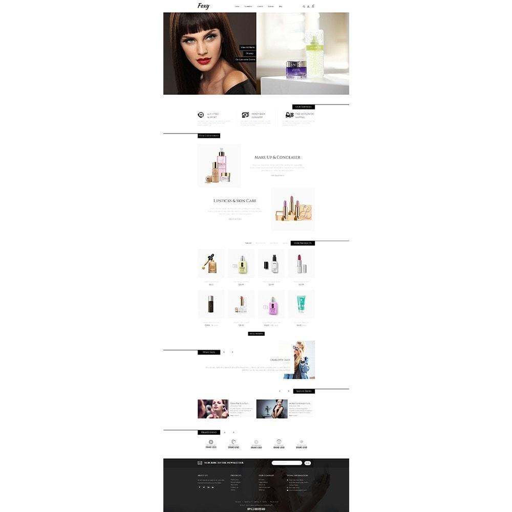 theme - Zdrowie & Uroda - Foxy Cosmetic Shop - 2