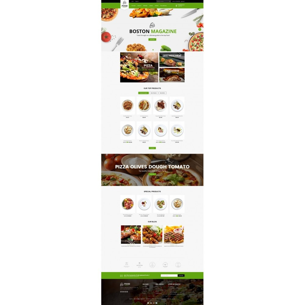 theme - Lebensmittel & Restaurants - Food Mart Store - 2