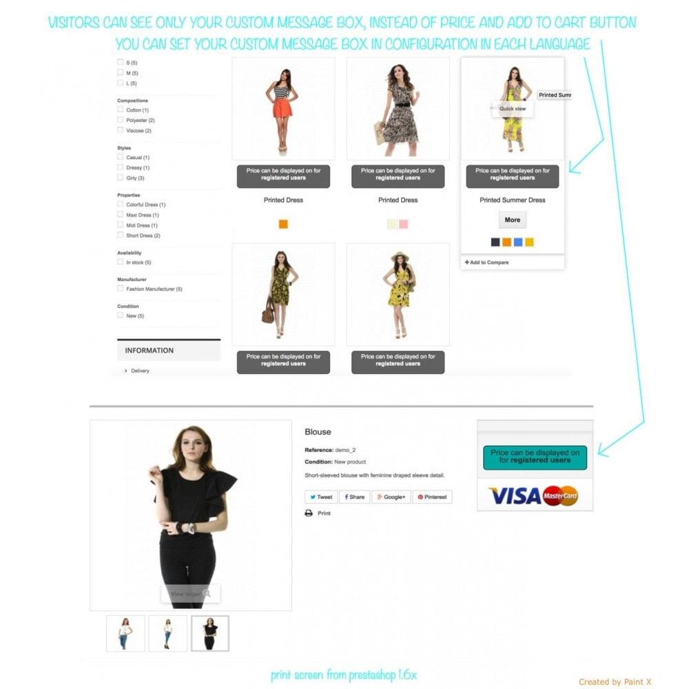 module - B2B - Validar el usuario B2B, ocultar precios para visitantes - 1