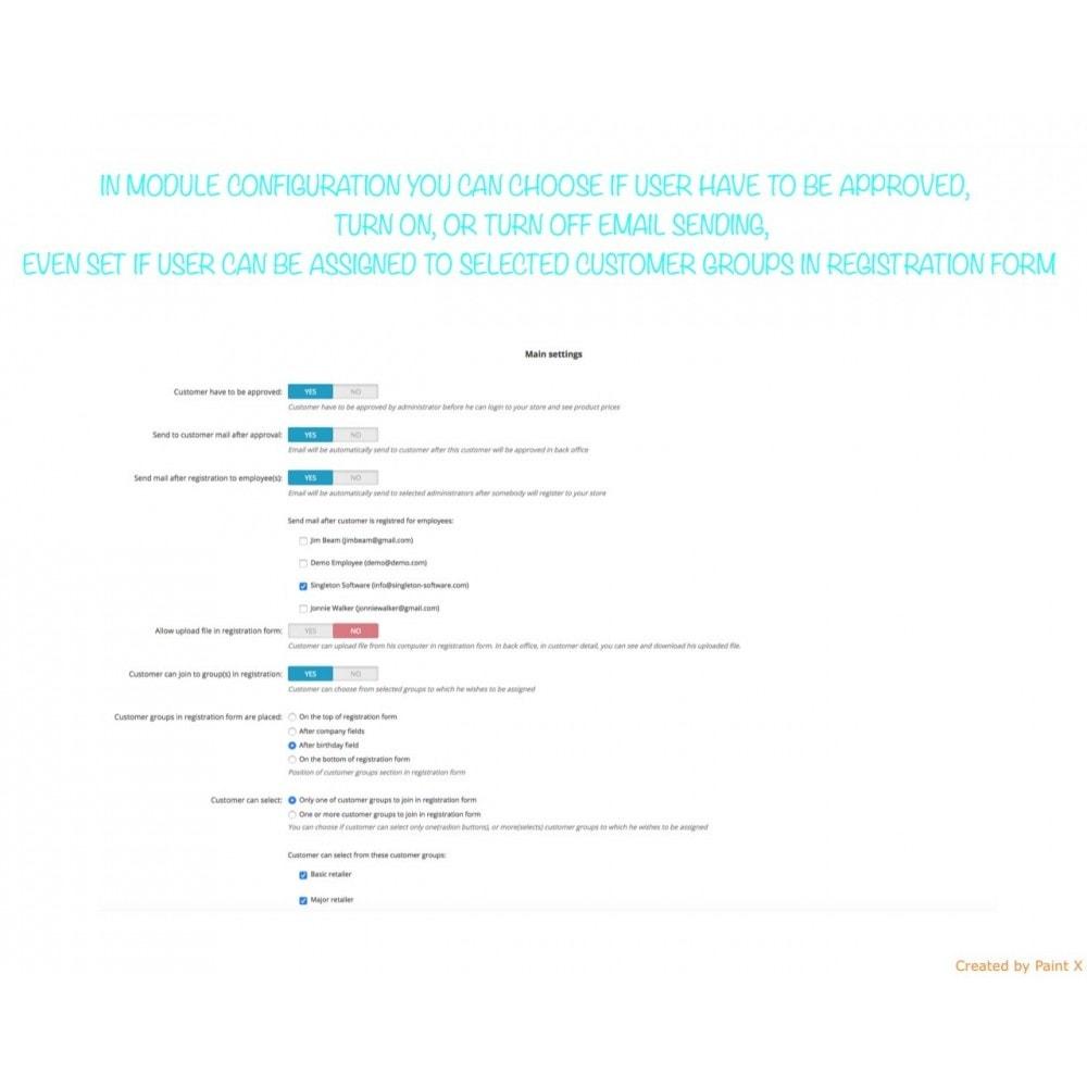 module - B2B - Validation B2B du membre enregistré et cacher des prix - 5