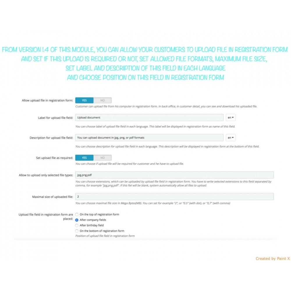 module - B2B - Prezzi nascosti e conferma di registrazione utenti B2B - 7