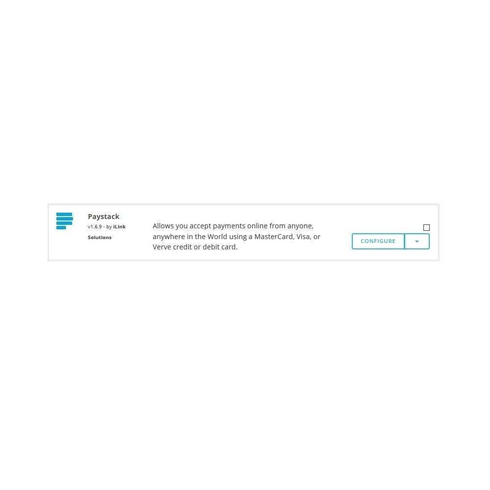 module - Оплата банковской картой или с помощью электронного кошелька - Paystack - 1
