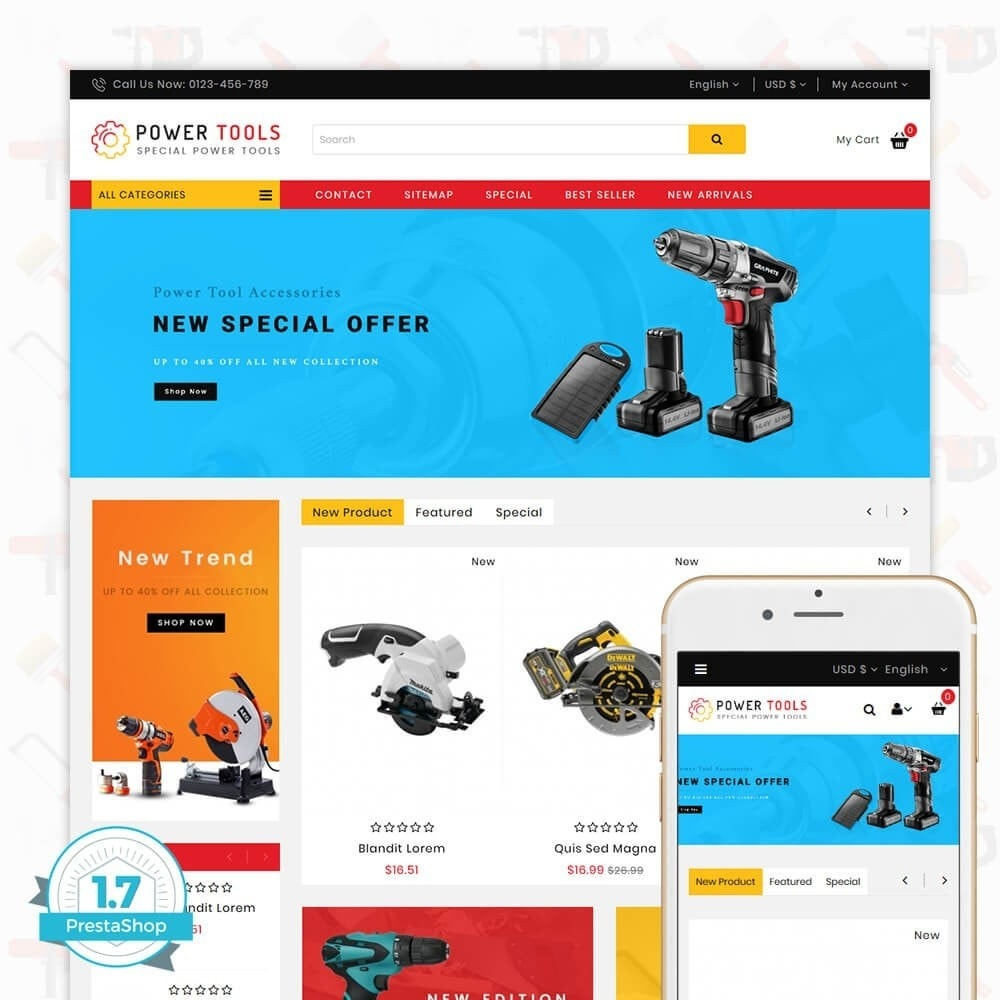 Power tools - Special Power Tools