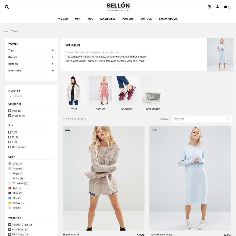 theme - Mode & Chaussures - SELLON - 3