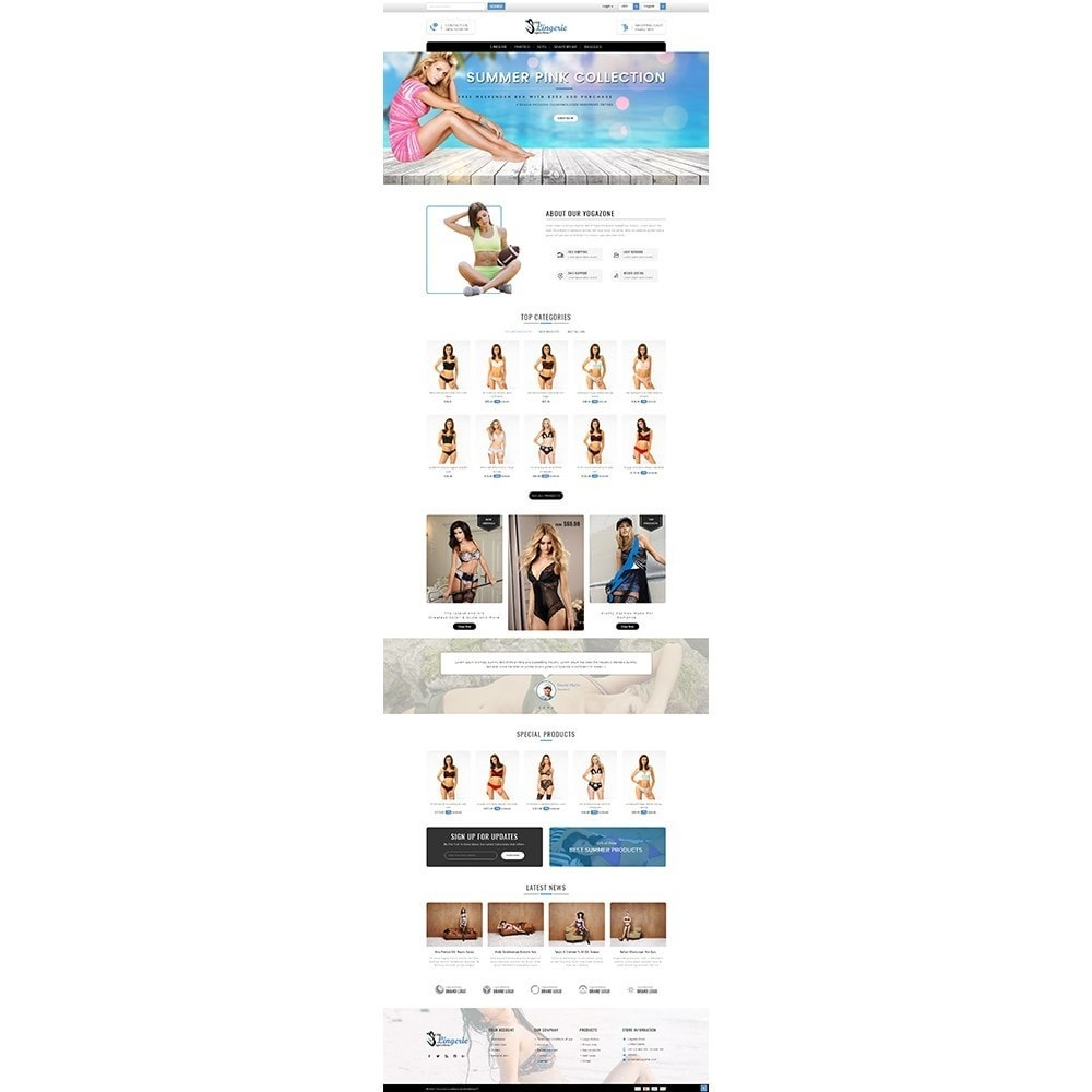 theme - Lenceria y Adultos - Sexy Lingerie uperstore - 2