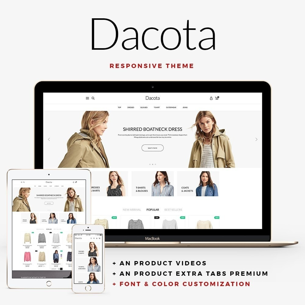theme - Moda & Calzature - Dacota Fashion Store - 1