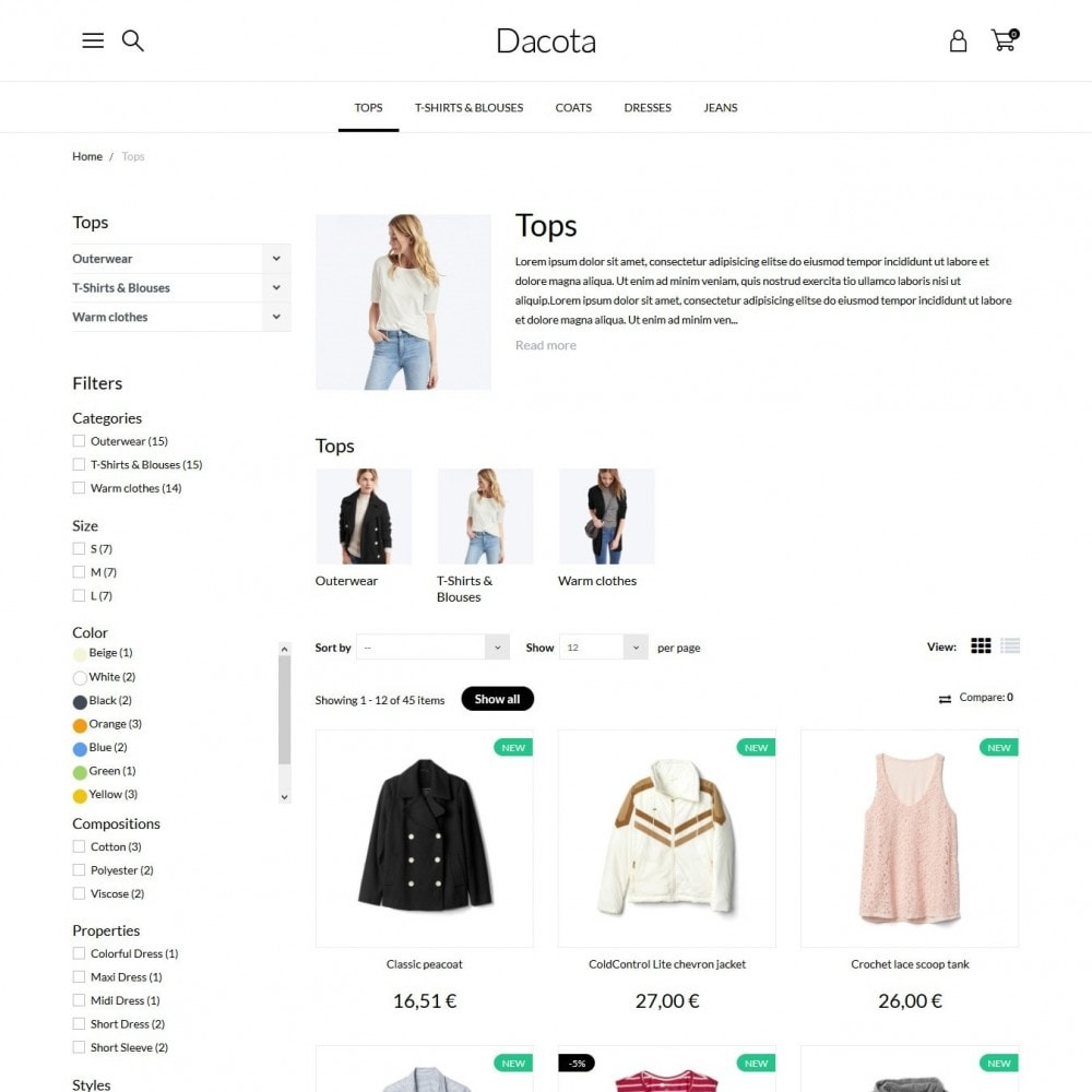 theme - Moda & Calzature - Dacota Fashion Store - 5