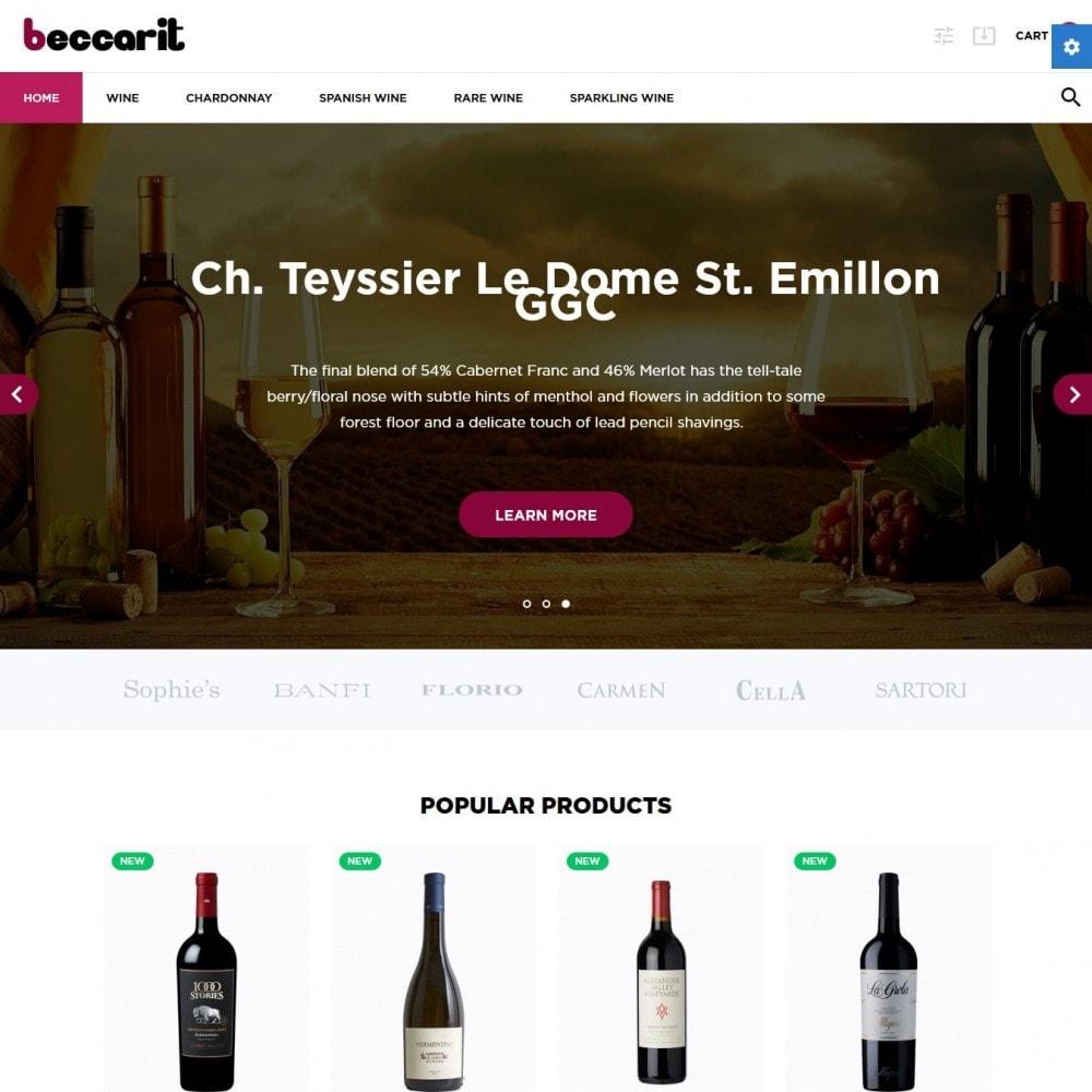 theme - Bebidas & Tabaco - Beccarit Shop - 2