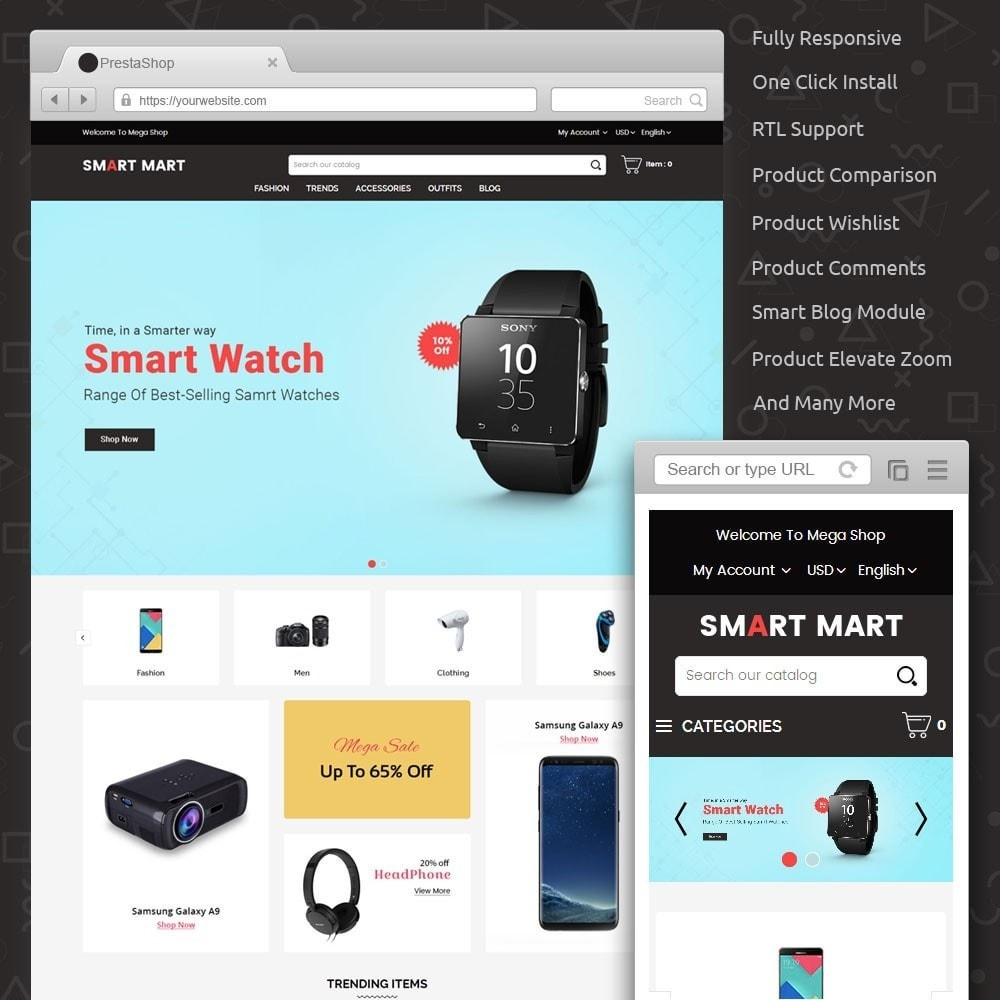 theme - Elektronik & High Tech - Smart Mart Digital Store - 1