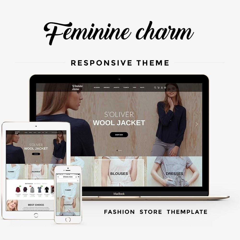 theme - Moda & Calçados - Feminine Charm - 1