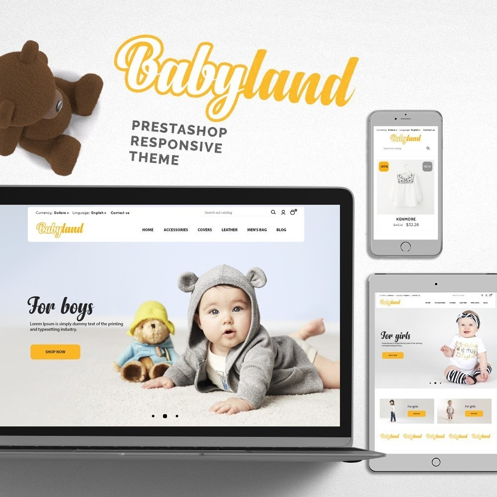theme - Kids & Toys - Babyland - 1