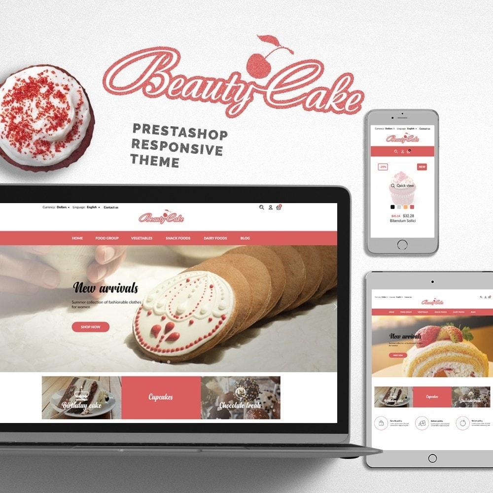 theme - Food & Restaurant - BeautyCake - 1