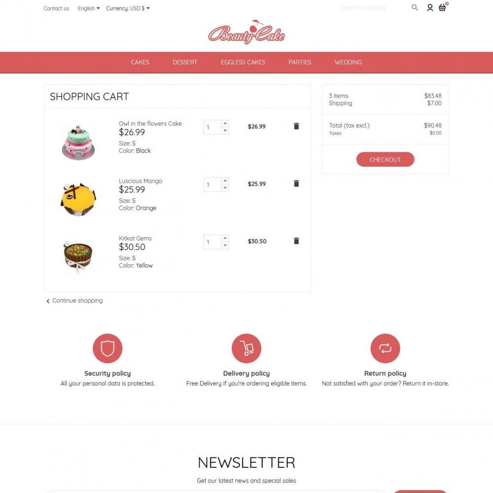 theme - Food & Restaurant - BeautyCake - 9